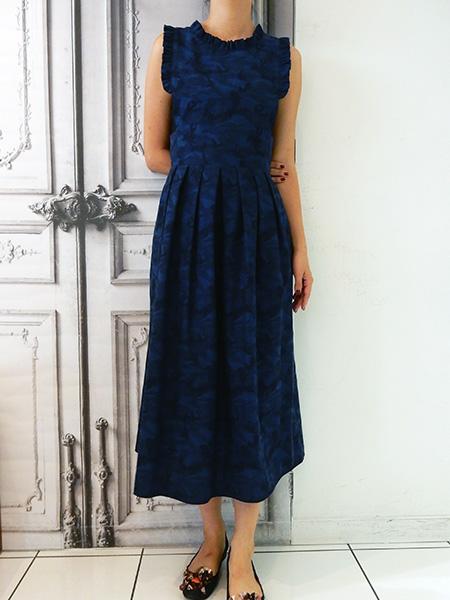 エプロン風ドレス