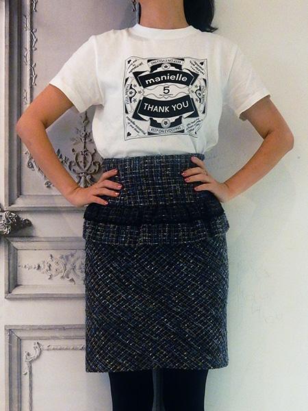 manielle5周年記念Tシャツ